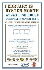 Jax fish house oystermonth poster boulder for Jax fish house kansas city