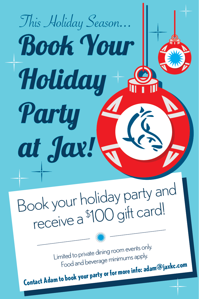 Jax fish house jaxkc holidayparty 2017 email 01 for Jax fish house kansas city