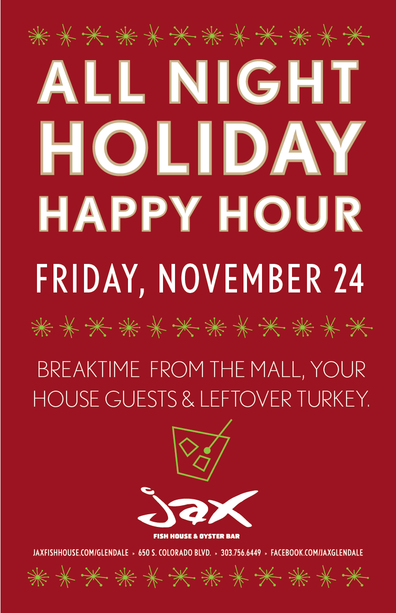 Jax fish house jaxg holiday hh poster 2017 for Big fish happy hour