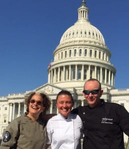 Chef Sheila Lucero Advocates for sustainable seafood in Washington DC