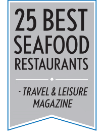 25 Best Seafood Restaurants by Travel & Leisure Magazine