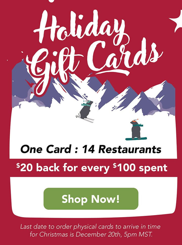 Holiday Gift Cards from Big Red F Restaurant Group!
